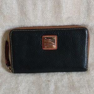 Authentic Dooney & Bourke zip wallet